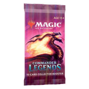 Wizards of the Coast MTG: COMMANDER LEGENDS - COLLECTOR BOOSTER