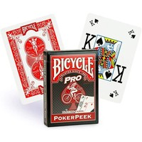 BICYCLE PRO POKER RED