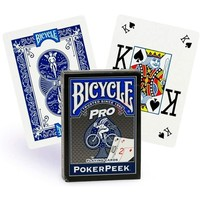 BICYCLE PRO POKER BLUE