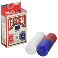 BICYCLE POKER CHIPS PLASTIC
