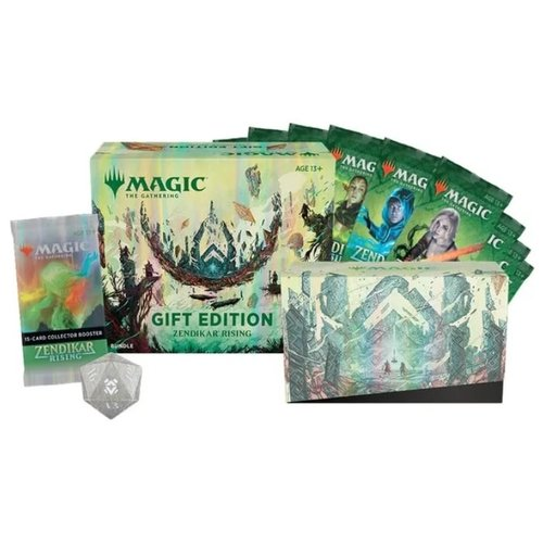 Wizards of the Coast MTG: ZENDIKAR RISING - GIFT BUNDLE