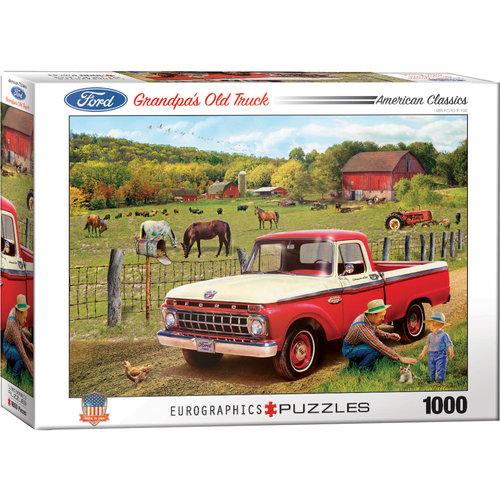 EUROGRAPHICS EG1000 AMERICAN CAR CLASSICS - GRANDPA'S OLD TRUCK