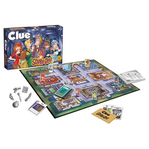 USAopoly CLUE: SCOOBY-DOO