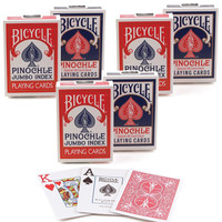 BICYCLE PINOCHLE RED