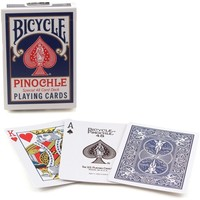 BICYCLE PINOCHLE BLUE