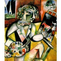 PT1000 CHAGALL - SELF-PORTRAIT WITH 7 FINGERS