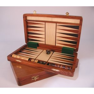 "Worldwise Imports BACKGAMMON 12"" WOOD MAGNETIC"