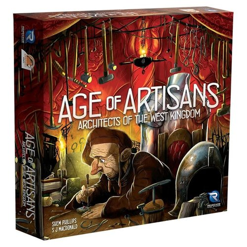Renegade Games Studios ARCHITECTS OF THE WEST KINGDOM: AGE OF ARTISANS
