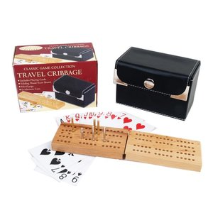 JOHN HANSEN COMPANY CRIBBAGE TRAVEL SET