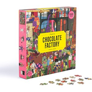Laurence King Publishing LK1000 INSIDE THE CHOCOLATE FACTORY