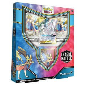 Pokemon USA POKEMON: ZACIAN V LEAGUE BATTLE DECK