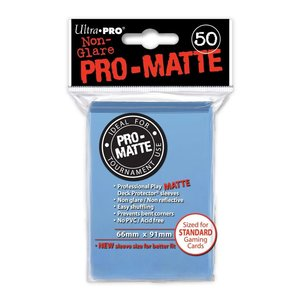 Ultra Pro International DECK PROTECTOR: PRO: MATTE LIGHT BLUE (50 )