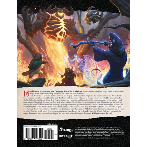 Hit Point Press HUMBLEWOOD: CAMPAIGN SETTING