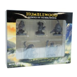 Hit Point Press MINIS: HUMBLEWOOD: HEROES OF HUMBLEWOOD