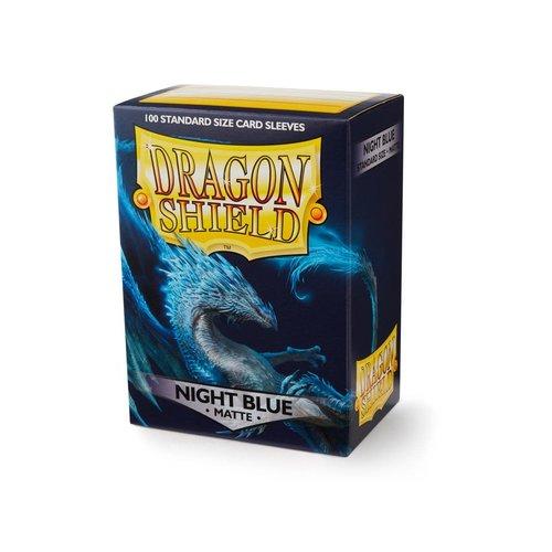 Arcane Tinmen DECK PROTECTOR: DRAGON SHIELDS: MATTE NIGHT BLUE (100)
