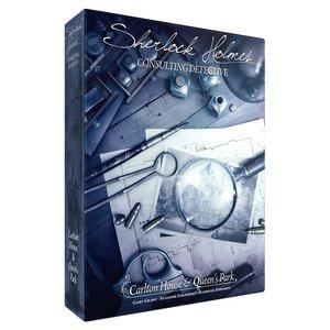 Fantasy Flight Games SHERLOCK HOLMES: CONSULTING DETECTIVE - CARLTON HOUSE & QUEENS PARK