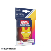 DECK PROTECTOR: MARVEL CHAMPIONS - IRON MAN ART SLEEVES (50)