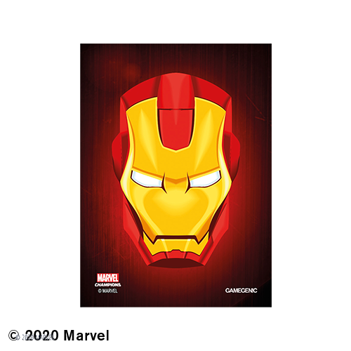 GAMEGENIC DECK PROTECTOR: MARVEL CHAMPIONS - IRON MAN ART SLEEVES (50)
