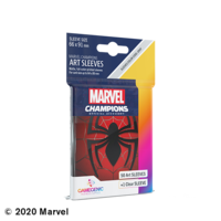 DECK PROTECTOR: MARVEL CHAMPIONS - SPIDER MAN ART SLEEVES (50)