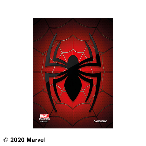 GAMEGENIC DECK PROTECTOR: MARVEL CHAMPIONS - SPIDER MAN ART SLEEVES (50)
