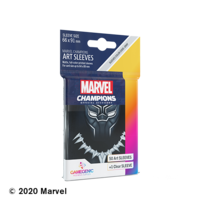 DECK PROTECTOR: MARVEL CHAMPIONS - BLACK PANTHER ART SLEEVES (50)