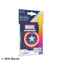 DECK PROTECTOR: MARVEL CHAMPIONS - CAPTAIN AMERICA ART SLEEVES (50)