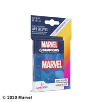 DECK PROTECTOR: MARVEL CHAMPIONS -  BLUE ART SLEEVES (50)