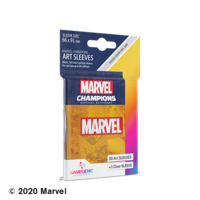DECK PROTECTOR: MARVEL CHAMPIONS -  ORANGE ART SLEEVES (50)