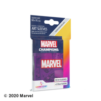 DECK PROTECTOR: MARVEL CHAMPIONS -  PURPLE ART SLEEVES (50)