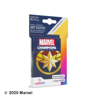 DECK PROTECTOR: MARVEL CHAMPIONS -  CAPTAIN MARVEL ART SLEEVES (50)