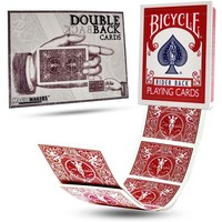 BICYCLE DOUBLE BACK RED