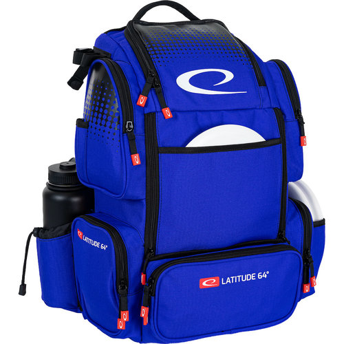 Latitude 64 LUXURY E4 DISC GOLF BACKPACK - BLUE