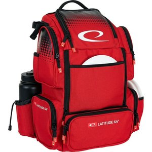 Latitude 64 LUXURY E4 DISC GOLF BACKPACK - RED