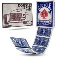 BICYCLE DOUBLE BACK BLUE