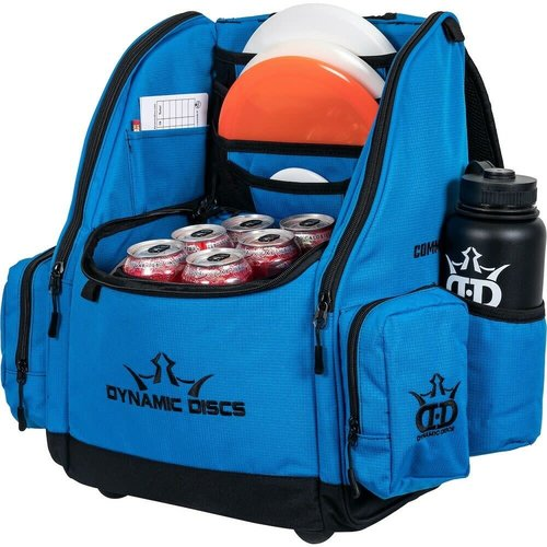 Dynamic Discs COMMANDER COOLER DISC GOLF BACKPACK - RIPSTOP BLUE
