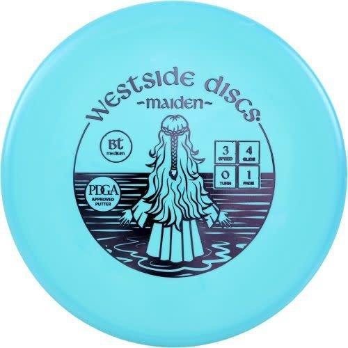 Westside Discs MAIDEN BT MEDIUM 173g-176g PUTTER GOLF DISC