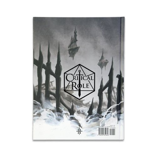 Darrington Press / Critical Role CRITICAL ROLE - THE CHRONICLES OF EXANDRIA VOL. II: THE LEGEND OF VOX MACHINA ART BOOK STANDARD EDITION