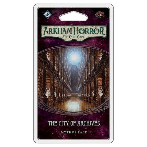 Fantasy Flight Games ARKHAM HORROR LCG: THE CITY OF ARCHIVES MYTHOS PACK