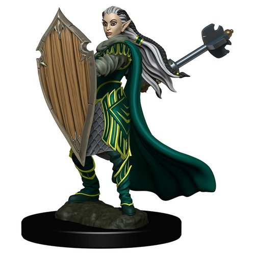 Wizkids MINIS: ICONS OF THE REALMS: ELF FEMALE PALADIN