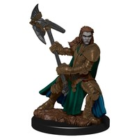 MINIS: ICONS OF THE REALMS: HALF-ORC FEMALE FIGHTER