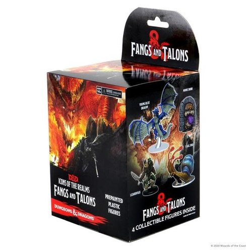 Wizkids MINIS: D&D: ICONS OF THE REALMS - TALONS AND FANGS BOOSTER