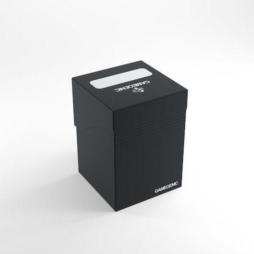 GAMEGENIC DECK BOX: 100+ BLACK