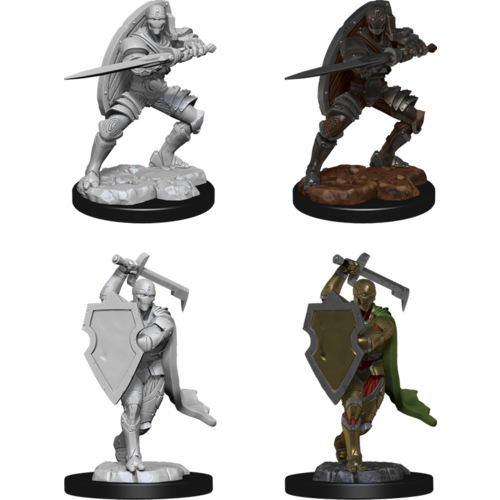 Wizkids MINIS: D&D: WARFORGED MALE FIGHTER