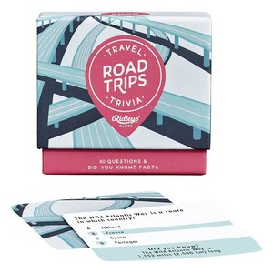 Ridley's Games RIDLEY'S TRAVEL TRIVIA: ROAD TRIPS