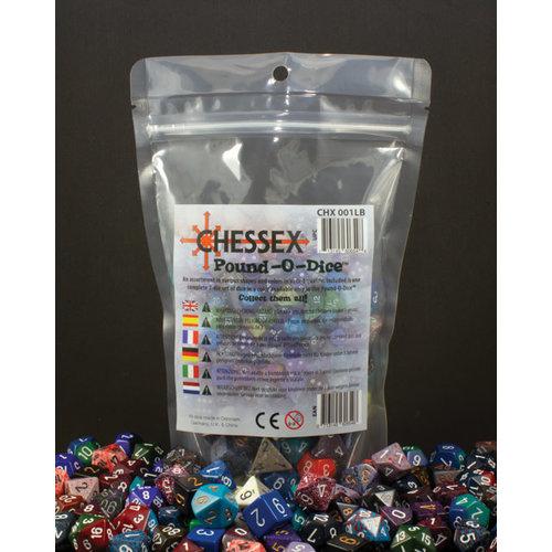 Chessex POUND-O-DICE (OPAQUE)