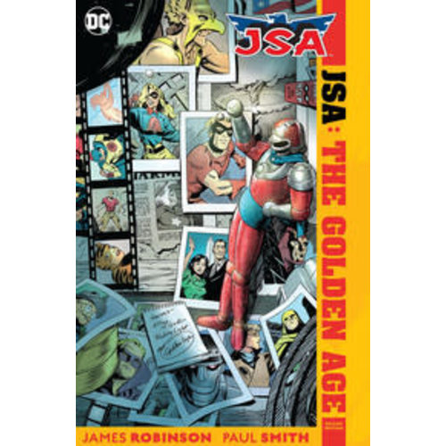 DC Comics JSA THE GOLDEN AGE DELUXE