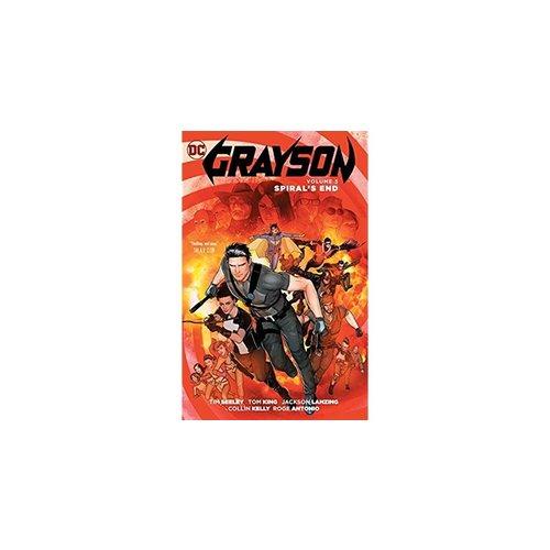 DC Comics GRAYSON VOL 5 SPIRAL'S END