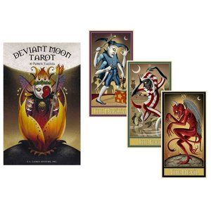 US GAMES SYSTEMS TAROT DEVIANT MOON
