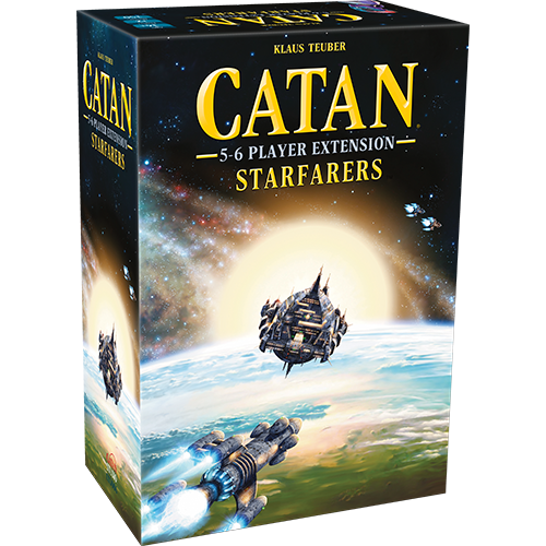 Catan Studios CATAN: STARFARERS 5-6 PLAYER EXTENSION
