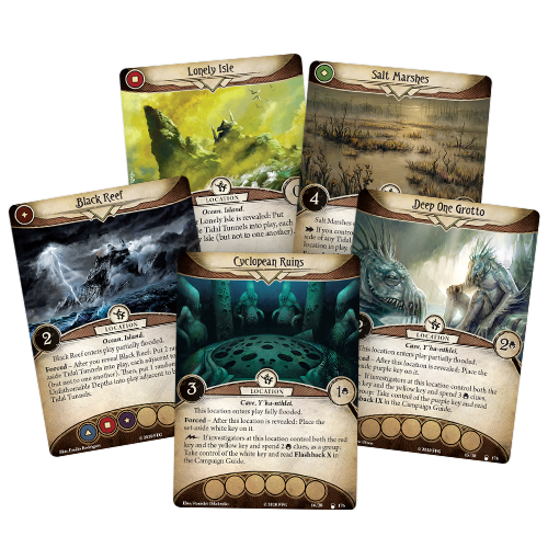 Fantasy Flight Games ARKHAM HORROR LCG: DEVIL'S REEF